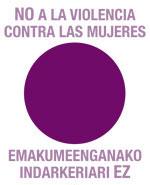 El punto lila como símbolo del rechazo a la violencia contra las mujeres se difunde con una dinámica de uso libre: pásalo, píntalo, póntelo, imprímelo, publícado, ponlo en la ventana, en tu coche, en tu ropa...